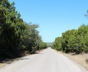 Texas Sandstone Quarry Road