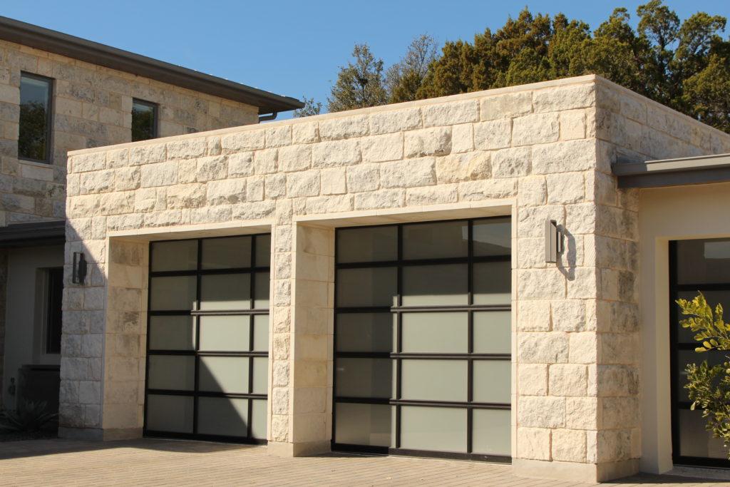 Blue Coral Limestone, Austin Custom Homes, Barton Creek